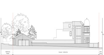 planning permission granted at : 1 Hillfield Park, N10 3QT