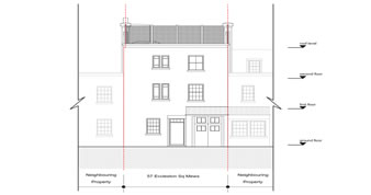 planning permission granted at : 57 Eccleston Square Mews, London, SW1V 1QN