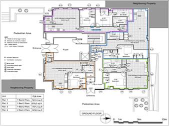 planning permission granted at : Ground Floor, Balmoral House, 12 Lanark Square, London, E14 9QD