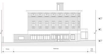 planning permission granted at : Roxeth House, Shaftesbury Avenue, South Harrow, Harrow, HA2 0PZ