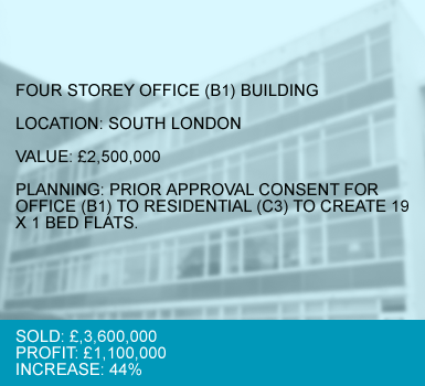 CASE 3 : FOUR STOREY OFFICE (B1) BUILDING