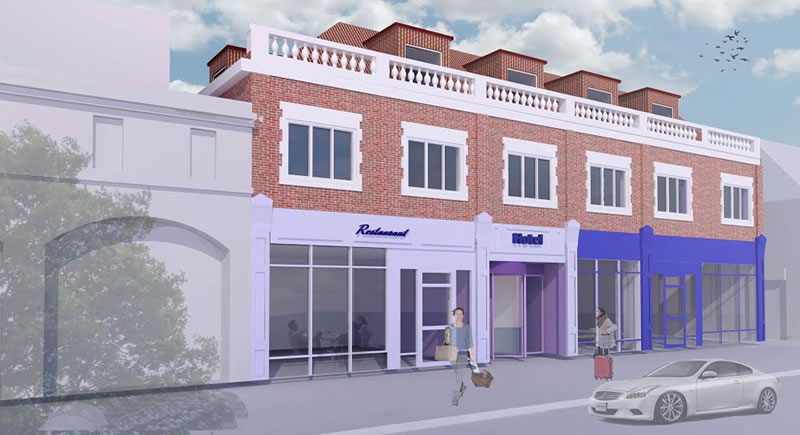 New Hotel in Golders Green - Approved