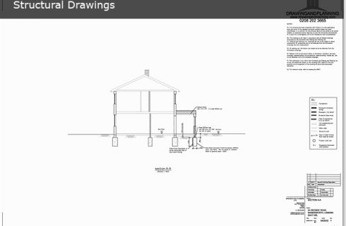 STRUCTURAL DRAWINGS   Drawing and Planning - Planning Permission