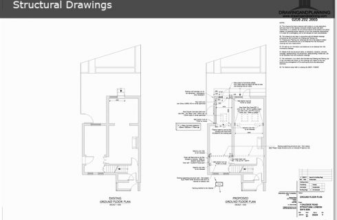 Structural drawings drawing and planning planning permission the solutioingenieria Gallery