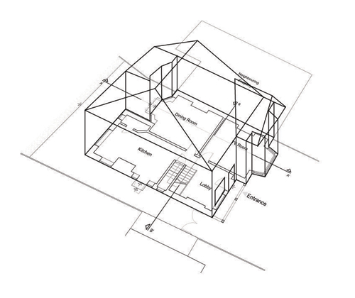 Architectural Drawings Only Semi Detached Houses