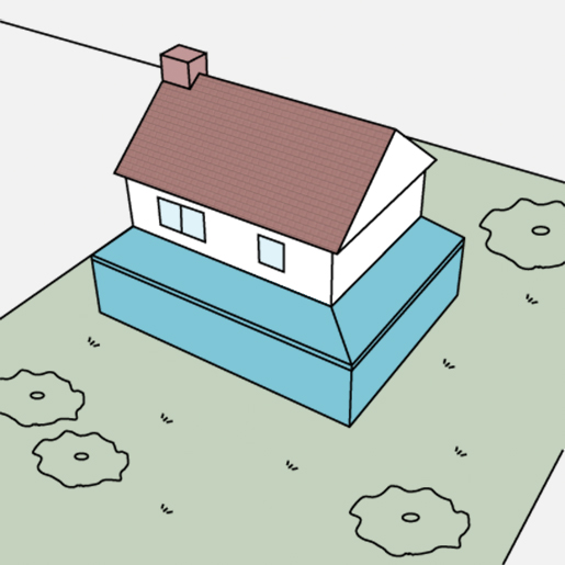 Single Storey Side Return Extension   Drawing and Planning ...