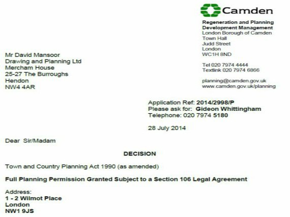 Successful Planning Applications Drawing And Planning Planning