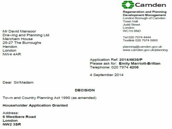 SUCCESSFUL PLANNING APPLICATIONS