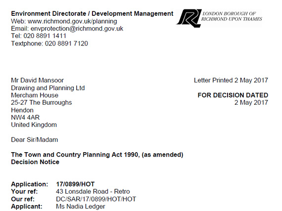 Successful Planning Applications Drawing And Planning