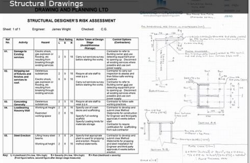 STRUCTURAL DRAWINGS   Drawing and Planning - Planning