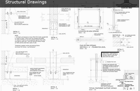 STRUCTURAL DRAWINGS | Drawing and Planning - Planning